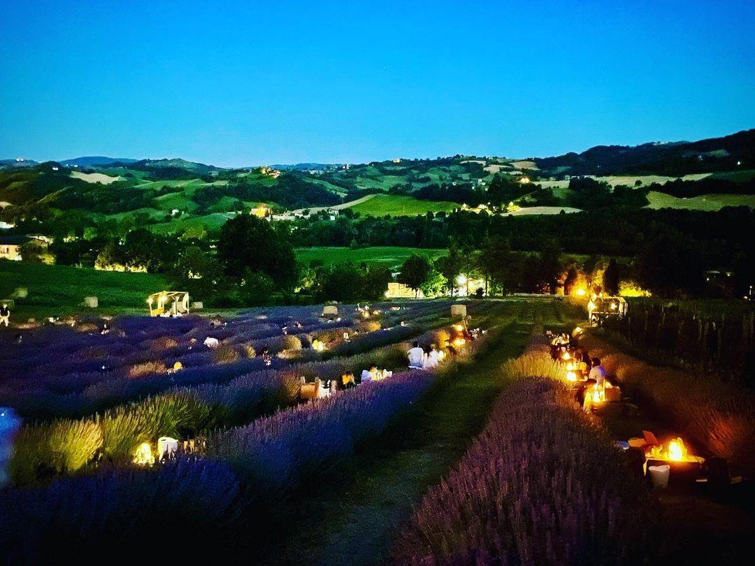 Đến Italy, ăn tối lãng mạn giữa ngút ngàn oải hương