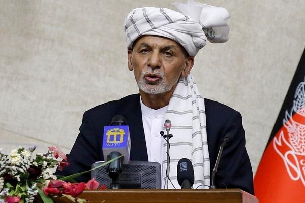 Tổng thống Afghanistan và gia đình đang ở UAE