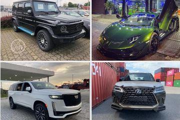 Nhiều siêu xe đắt đỏ cập bến Việt Nam nửa đầu tháng 8