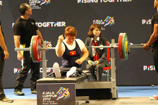 Powerlifter beatscancer to attend five Paralympics