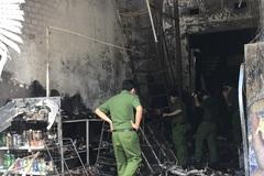 Cảnh tan hoang trong căn nhà bốc cháy khiến 5 người tử vong ở Bình Dương