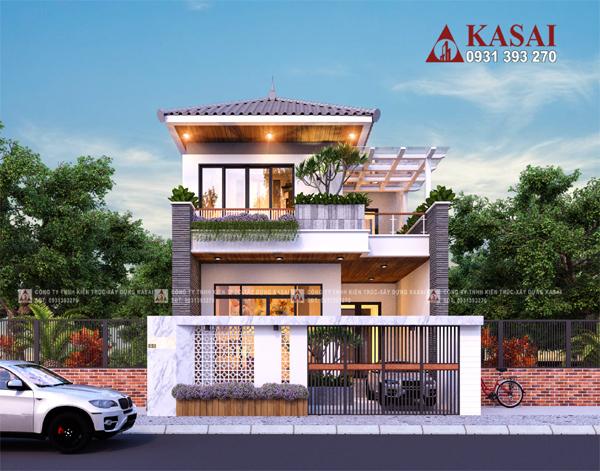 Kiến trúc Kasai - không gian sống sung túc, tiện nghi tuyệt vời mùa dịch