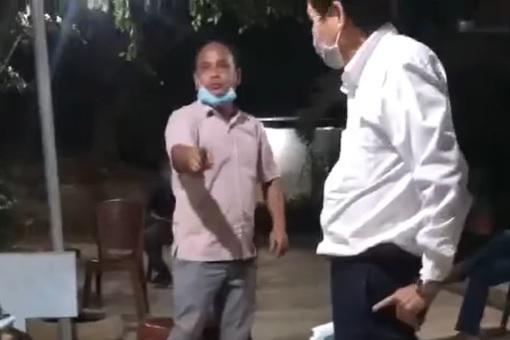 Nhậu giữa mùa dịch, người đàn ông ở Đắk Lắk lớn tiếng thách chủ tịch còng tay