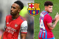 Aubameyang từ chối sang Barca, Coutinho vui mừng khôn xiết