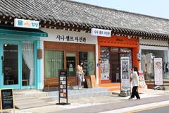 Hwangnidan-gil, con phố thời thượng ở Gyeongju, Hàn Quốc
