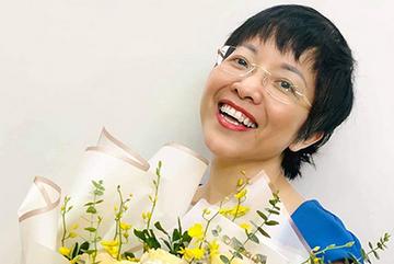 MC Thảo Vân trẻ trung đón tuổi 51