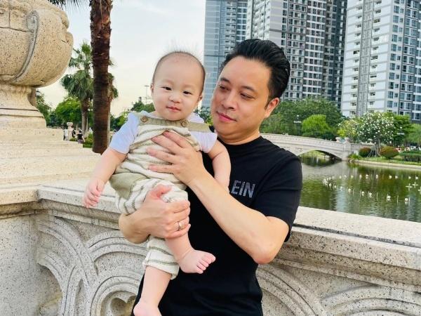 Hai quý tử lanh lợi, ngộ nghĩnh của gia đình Victor Vũ, Đinh Ngọc Diệp