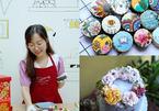 Bỏ việc ngân hàng mở bếp làm bánh, cô gái trẻ thu 100 triệu/tháng
