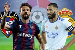 Levante vs Real Madrid: Gọi tên Benzema