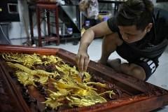 Kieu Ky gilding craft revives thanks to artisans' creativity