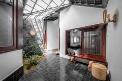Thích nghỉ dưỡng tại gia, gia đình ở Sóc Trăng xây nhà cấp 4 như resort