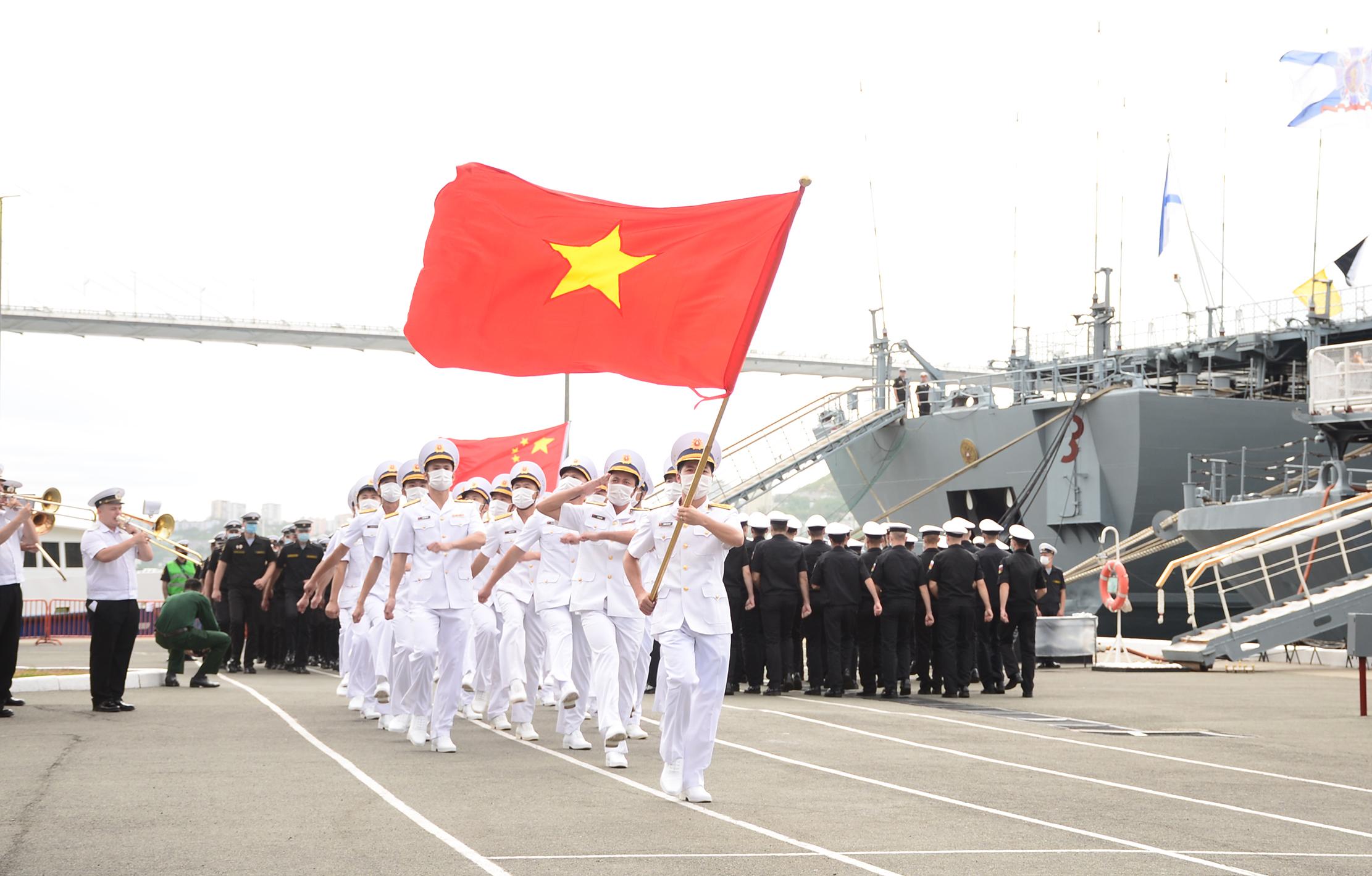 Hai tàu hộ vệ của Việt Nam tranh tài 'Cúp biển' cùng đội Nga, Trung Quốc