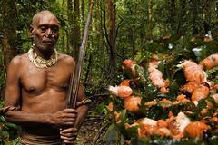 Bộ tộc sống trên cây cao 40m, ăn 'pizza' côn trùng chỉ có trong rừng sâu