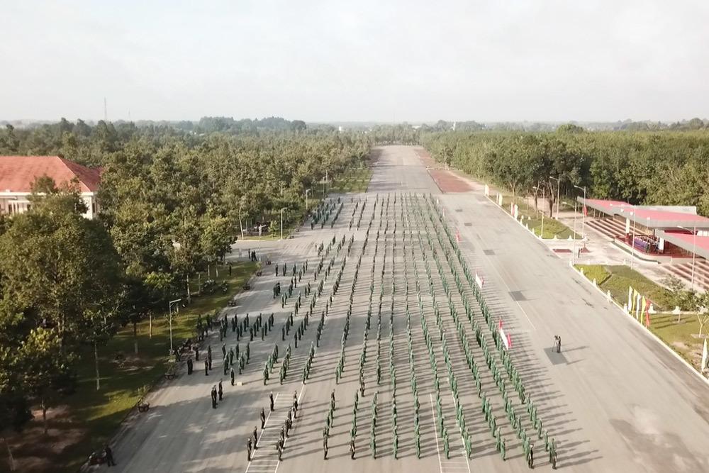 Quân khu 7 cử 2.000 chiến sĩ vào thẳng tâm dịch TP.HCM