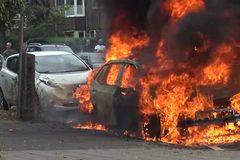 Xe điện Volkswagen bất ngờ phát nổ ở Hà Lan
