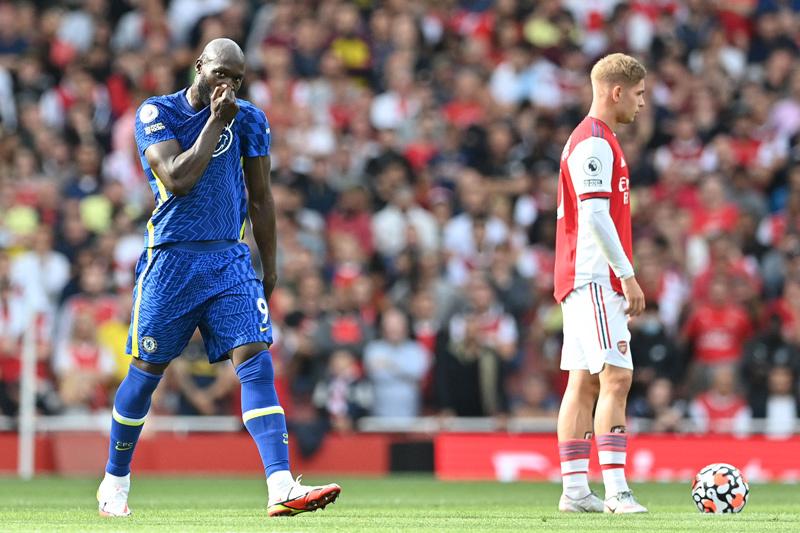 Lukaku rực sáng, Chelsea nhấn chìm Arsenal