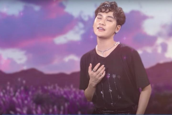 Lona Kiều Loan hát 'Nổi lửa lên em' cổ vũ chống dịch ở The Heroes