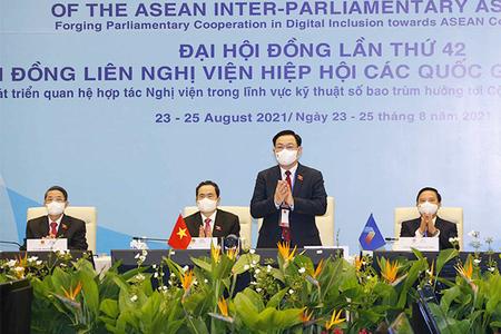 Quốc hội Việt Nam đóng góp hết mình cho sự lớn mạnh và trường tồn của ASEAN