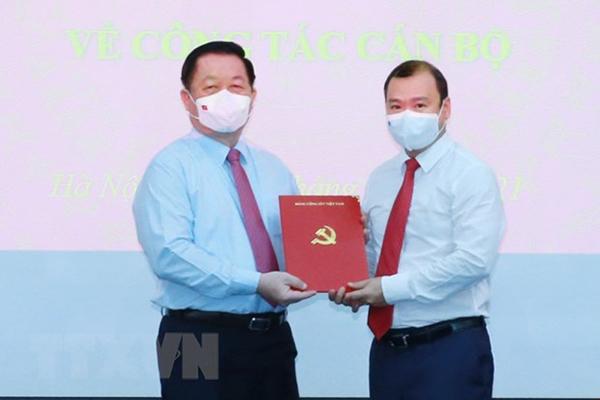Ông Lê Hải Bình giữ chức Phó trưởng Ban Tuyên giáo Trung ương