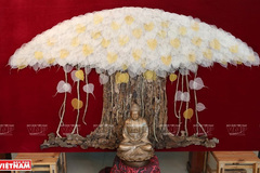 Bodhi leaf paintings