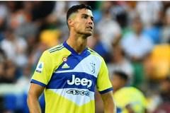 Ronaldo tẽn tò vì ăn mừng như vô địch bàn thắng hụt