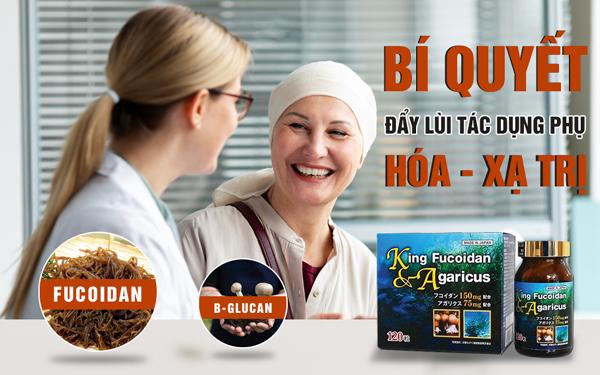 Fucoidan mix AG - hợp chất quý nâng sức đề kháng cơ thể