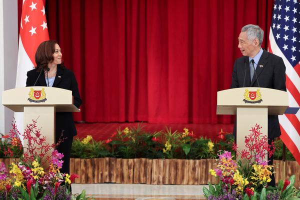 Phó Tổng thống Mỹ Harris tái xác nhận cam kết của Mỹ ở Biển Đông