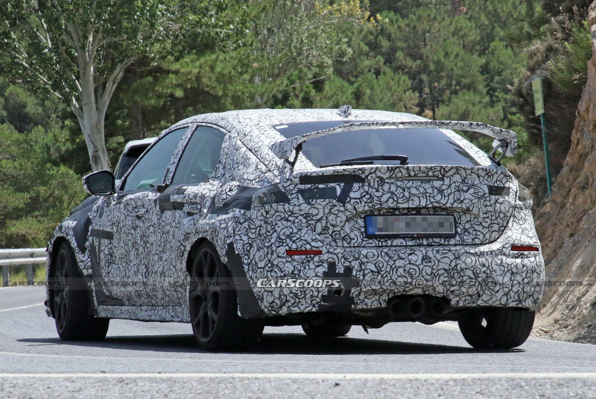 Tiết lộ mẫu hot Honda Civic Type R 2022 thế hệ thứ 11