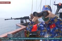 Hình ảnh binh sĩ Hải quân Việt Nam thi đấu ở Army Games 2021