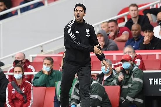 Arsenal chưa vội sa thải HLV Mikel Arteta vì lý do này