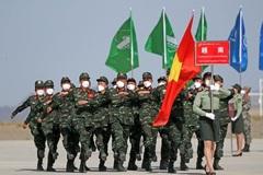 Xem đội hóa học Việt Nam tập dượt tranh tài ở Army Games 2021