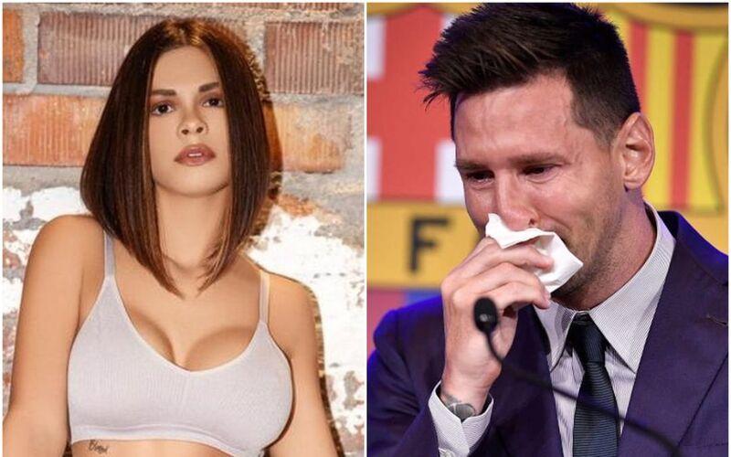 Siêu mẫu Playboy chi 600.000 USD mua… khăn lau mũi của Messi