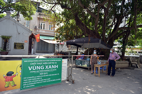 Hanoi protects green zones from the core
