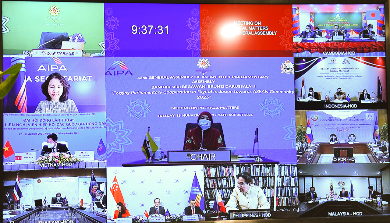 Việt Nam đề nghị AIPA có cơ chế hợp tác an ninh mạng và hỗ trợ chống dịch