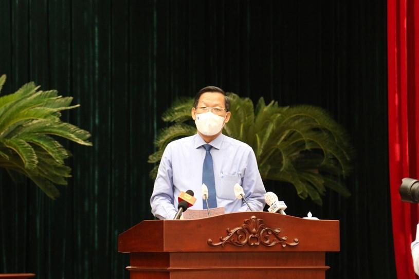 Tân Chủ tịch TP.HCM: TP lên kế hoạch mở cửa từng bước sau 15/9
