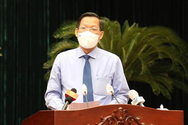 Tân Chủ tịch TP.HCM Phan Văn Mãi: Quyết liệt chống dịch, chăm lo tốt hơn cho người nghèo