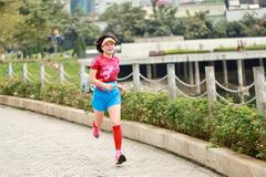 Đam mê chinh phục những cung đường của nữ runner 7x