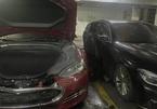Thêm một chiếc Tesla Model S bốc cháy, xe BMW đỗ bên cạnh bị liên lụy