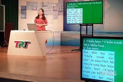 Thừa Thiên Huế cho học sinh lớp 1, lớp 2 học qua truyền hình