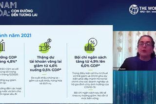 WB dự báo tăng trưởng kinh tế kinh tế Việt Nam 4,8%