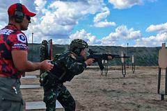 """Xem binh sĩ Việt Nam thi đấu môn """"Xạ thủ chiến thuật"""" tại Army Games"""