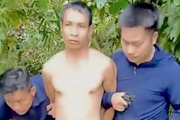 Bắt đối tượng truy nã nguy hiểm ở Điện Biên