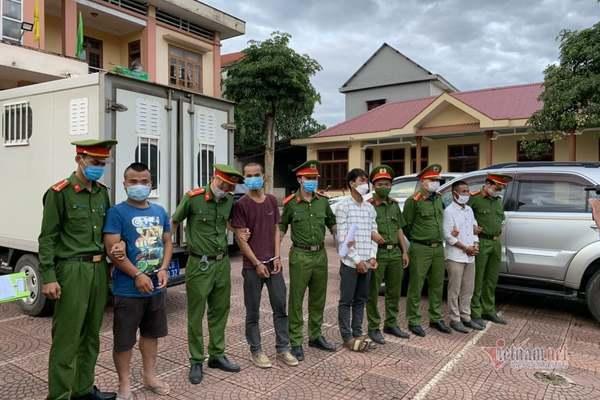 Bắt 4 đối tượng vụ tấn công 6 cán bộ công an Quảng Trị nhập viện