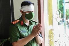Thiếu tá công an lập bàn thờ cha tại nơi chống dịch ở Sơn La