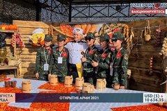 """Hình ảnh đội Việt Nam tham gia """"Bếp dã chiến"""" tại Army Games 2021"""