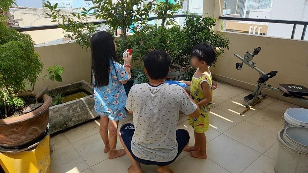 Gia đình 4 người chiến thắng Covid-19 sau 10 ngày điều trị tại nhà