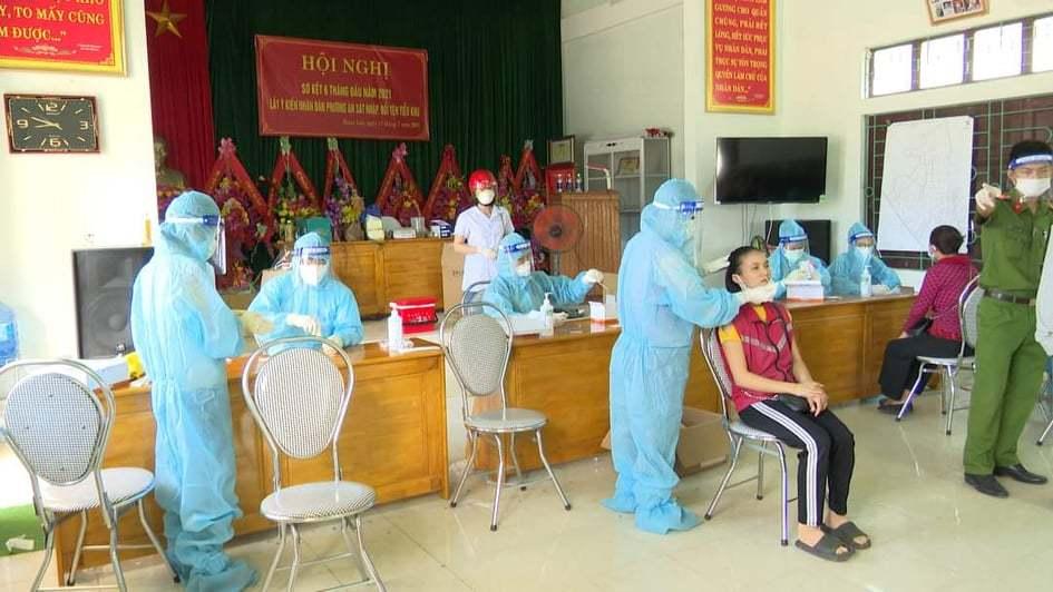 Xuất hiện ổ dịch mới, Quảng Bình cách ly xã hội TP Đồng Hới và 1 huyện