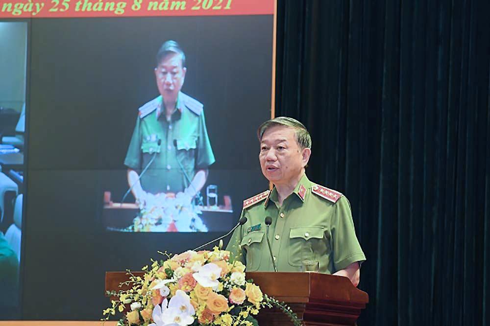Đại tướng Tô Lâm: Công an sẵn sàng chi viện địa bàn có dịch phức tạp