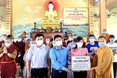 35 tăng ni, phật tử Đồng Nai tham gia tuyến đầu chống dịch