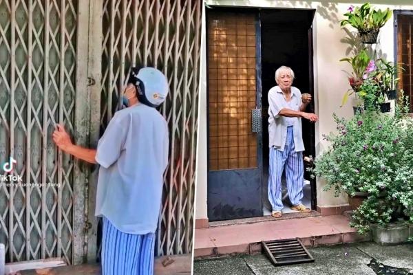 Con gái 'cụ ông xin mua 1 kg gạo chăm vợ ốm': Ba tôi bị lẫn, có lương hưu